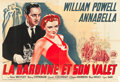 "Movie Posters:Comedy, The Baroness and the Butler (20th Century Fox, 1938). French Double Grande (63"" X 94.5"").. ..."