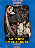 """Movie Posters:Adventure, Death in the Garden (Jacques Mage and Oscar Dancigers, 1956).French Grande (45"""" X 62"""") Style A.. ..."""