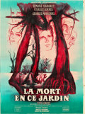 "Movie Posters:Adventure, Death in the Garden (Jacques Mage and Oscar Dancigers, 1956).French Grande (47"" X 63"") Style B.. ..."