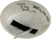 "A Jerry Lewis Signed Prop Flying Saucer from ""Visit to a Small Planet."""