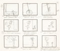 "Animation Art:Production Drawing, The Jetsons ""The Little Man"" Complete Cartoon Storyboard andScript Group (Hanna-Barbera, 1963).... (Total: 77 Items)"