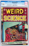 Golden Age (1938-1955):Science Fiction, Weird Science #8 Gaines File pedigree 8/12 (EC, 1951) CGC NM+ 9.6Off-white to white pages....