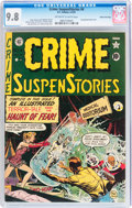 Golden Age (1938-1955):Horror, Crime SuspenStories #4 Gaines File pedigree 5/11 (EC, 1951) CGCNM/MT 9.8 Off-white to white pages....