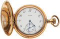 Timepieces:Pocket (post 1900), Elgin 15 Jewel, Hunter's Case Pocket Watch. ...
