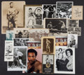 Boxing Collectibles:Autographs, 1900-1970's Muhammad Ali, Jack Dempsey & Others BoxingPhotographs, Some Signed, Lot of 22....