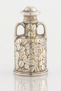 Silver Smalls:Other , AN AMERICAN SILVER AND SILVER GILT PERFUME BOTTLE, Tiffany &Co., New York, New York, circa 1870-75. Marks: TIFFANY &CO.,...