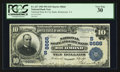National Bank Notes:Virginia, Richmond, VA - $10 1902 Plain Back Fr. 627 National State &City Bank Ch. # (S) 8666. ...