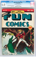 Golden Age (1938-1955):Miscellaneous, More Fun Comics #43 (DC, 1939) CGC FN 6.0 Off-white to white pages....