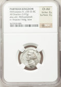 Ancients:Oriental, Ancients: PARTHIAN KINGDOM. Mithradates IV (58-53 BC). AR drachm (3.97 gm)....