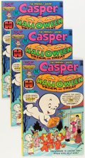 Bronze Age (1970-1979):Cartoon Character, Casper Halloween Trick or Treat #1 Group (Harvey, 1976) Condition:Average VF.... (Total: 21 Items)