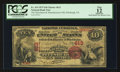 National Bank Notes:Pennsylvania, Pittsburgh, PA - $10 1875 Fr. 419 The Merchants & Manufacturers NB Ch. # 613. ...