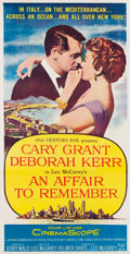 "Movie Posters:Romance, An Affair to Remember (20th Century Fox, 1957). Three Sheet (41"" X79.5"").. ..."