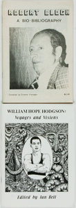 Books:Reference & Bibliography, [Bibliography]. Robert Bloch and William Hope Hodgson. TwoBibliographies. Various publishers and dates. Original printedwr... (Total: 2 Items)