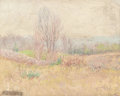 Fine Art - Painting, American:Modern  (1900 1949)  , ANSON KENT CROSS (American, 1862-1944). Blooming Landscape.Oil on board. 11 x 13-3/4 inches (27.9 x 34.9 cm). Signed lo...