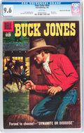 Silver Age (1956-1969):Western, Four Color #850 Buck Jones - Mile High pedigree (Dell, 1958) CGCNM+ 9.6 White pages....
