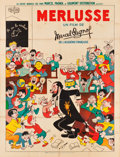 """Movie Posters:Comedy, Merlusse (Les Films Marcel Pagnol, 1935). French Grande (47"""" X63"""").. ..."""