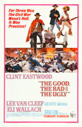 "Movie Posters:Western, The Good, the Bad and the Ugly (United Artists, 1968). One Sheet(27"" X 41.5""). ..."