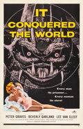 "Movie Posters:Science Fiction, It Conquered the World (American International, 1956). One Sheet (27"" X 41.5"").. ..."