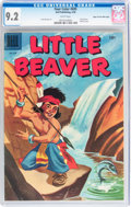 Silver Age (1956-1969):Adventure, Four Color #695 Little Beaver - Mile High pedigree (Dell, 1956) CGC NM- 9.2 White pages....