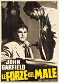 "Movie Posters:Film Noir, Force of Evil (MGM, 1948). Italian 4 - Foglio (55.25"" X 77.25"")....."