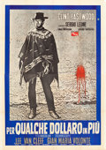 "Movie Posters:Western, For a Few Dollars More (PEA, 1965). Italian 4 - Foglio (56"" X78.5"") Style B.. ..."