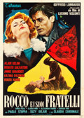 """Movie Posters:Foreign, Rocco and His Brothers (Titanus-Les Films Marceau, 1960). Italian 2 - Foglio (39"""" X 55""""). Foreign.. ..."""