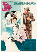"Movie Posters:Musical, My Fair Lady (Warner Brothers, 1964). Italian 4 - Foglio (55"" X77"").. ..."