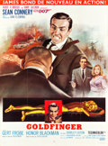 "Movie Posters:James Bond, Goldfinger (United Artists, 1964). French Grande (46"" X 62"").. ..."