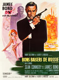 "Movie Posters:James Bond, From Russia with Love (United Artists, 1964). French Grande (47"" X 63"").. ..."