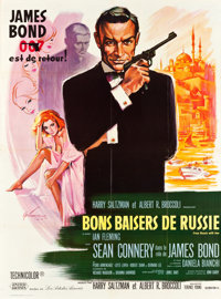 "From Russia with Love (United Artists, 1964). French Grande (47"" X 63"")"