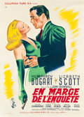 "Movie Posters:Film Noir, Dead Reckoning (Columbia, 1947). French Grande (44.5"" X 63"").. ..."