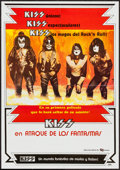 "Movie Posters:Rock and Roll, KISS Meets the Phantom of the Park & Others Lot (CineColumbia,1978). Columbian Poster (18.5"" X 26.5""), Concert Poster (23.2...(Total: 3 Items)"