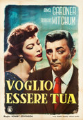"Movie Posters:Drama, My Forbidden Past (RKO, 1951). Italian 4 - Foglio (54"" X 78"").. ..."
