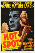 "Movie Posters:Film Noir, Hot Spot aka I Wake Up Screaming (20th Century Fox, 1941).One Sheet (27.25"" X 41"").. ..."