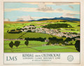 "Movie Posters:Miscellaneous, London, Midland, & Scottish Railway Company Travel Poster (c. 1930). Poster (40"" X 50"") Kendal from Oxenholme, London - Lake..."