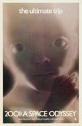 """Movie Posters:Science Fiction, 2001: A Space Odyssey (MGM, 1968). One Sheet (27"""" X 41"""") WildingStarchild Style.. ..."""