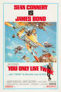 """You Only Live Twice (United Artists, 1967). One Sheet (27"""" X 41"""") Style B"""