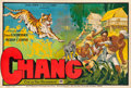 "Movie Posters:Documentary, Chang: A Drama of the Wilderness (Paramount, 1927). French Double Grande (61.5"" X 92"").. ..."