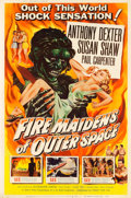 "Movie Posters:Science Fiction, Fire Maidens of Outer Space (Topaz, 1956). Poster (40"" X 60"").. ..."