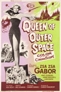 "Movie Posters:Science Fiction, Queen of Outer Space (Allied Artists, 1958). Poster (40"" X 60"").Science Fiction.. ..."