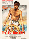 "Movie Posters:Crime, Purple Noon (Times, 1961). French Grande (47"" X 62""). OriginalTitle: Plein Soleil.. ..."