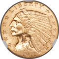 Indian Quarter Eagles, 1911-D $2 1/2 MS64 NGC....
