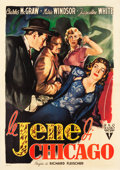 "Movie Posters:Film Noir, The Narrow Margin (RKO, 1952). Italian 4 - Foglio (55.25"" X 78"")....."