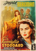 "Movie Posters:Drama, Adam Had Four Sons (Columbia, 1949). First Post-War Release Italian4 - Foglio (55"" X 78"").. ..."