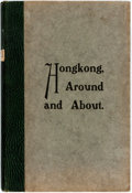 Books:Travels & Voyages, [S.H. Peplow and M. Barker]. Hongkong, Around and About. [Hone Kong: Ye Olde Printerie, 1931]. With folding map. Clo...