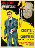"Movie Posters:Hitchcock, Rope (MGM, R-1963). Italian 4 - Foglio (55"" X 78"").. ..."