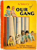 Books:Children's Books, Eleanor Lewis Packer. A Day with Our Gang. Racine: Whitman,1929. Original pictorial boards. Spine paper peeling. So...