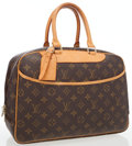 Luxury Accessories:Travel/Trunks, Louis Vuitton Classic Monogram Canvas Deauville Travel Bag. ...