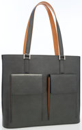 Luxury Accessories:Bags, Louis Vuitton Gray Monogram Mat Leather Wilwood Tote with BrushedSilver Hardware. ...