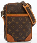 Luxury Accessories:Bags, Louis Vuitton Classic Monogram Canvas Danube Crossbody Bag. ...